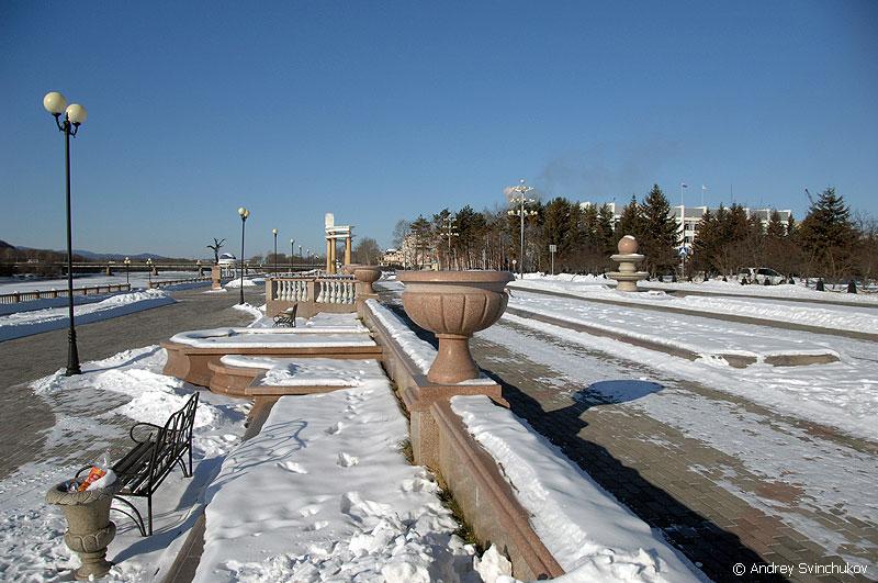 Картинки биробиджана зимой