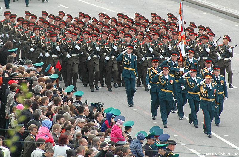 Парад Победы в Хабаровск 2012.