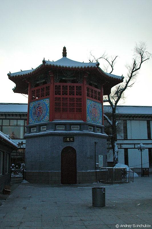 Буддийский храм в Харбине