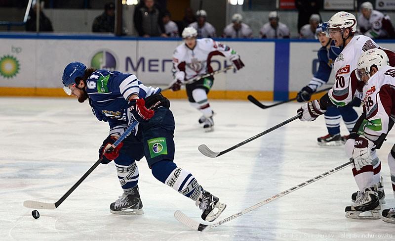 "Хоккей за ""Надежду"". ""Амур"" - ""Динамо Рига"""