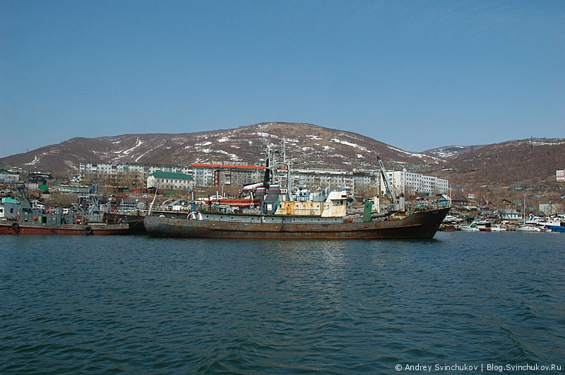 Петропавловск-Камчатский. Порт.