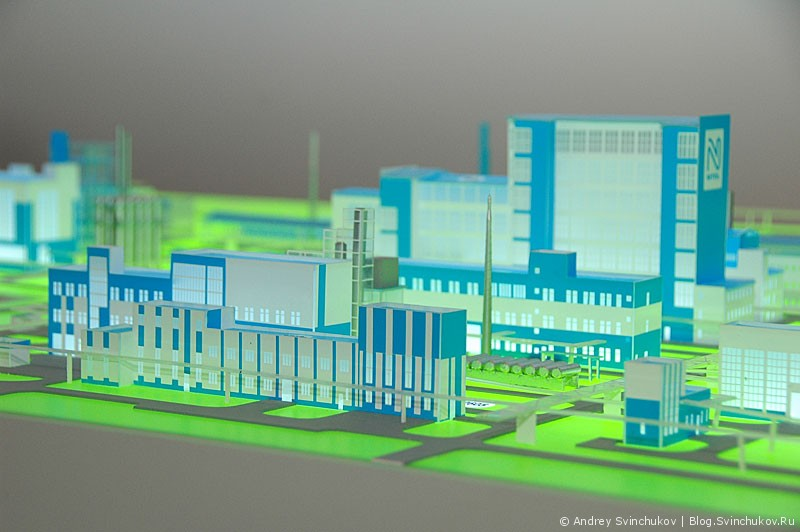 Макет Nitol завода