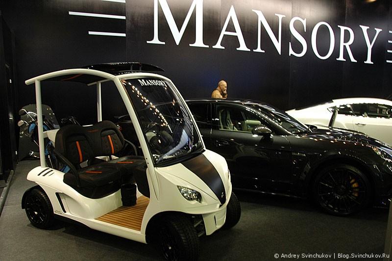 Mansory на ММАС-2012