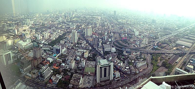 Высокие панорамы Бангкока