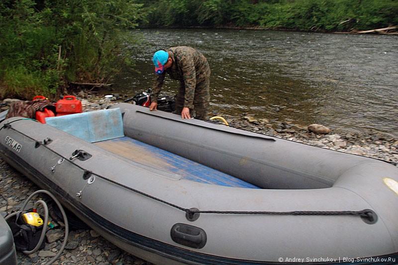 Рыбалка на Анюе и природа у горной реки