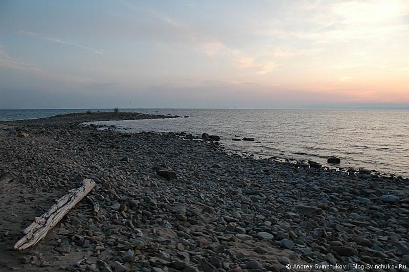 Байкал на закате