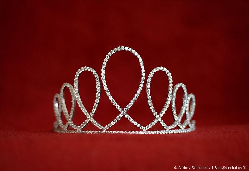 Корона для «Мисс Интернет Дальнего Востока - 2013»