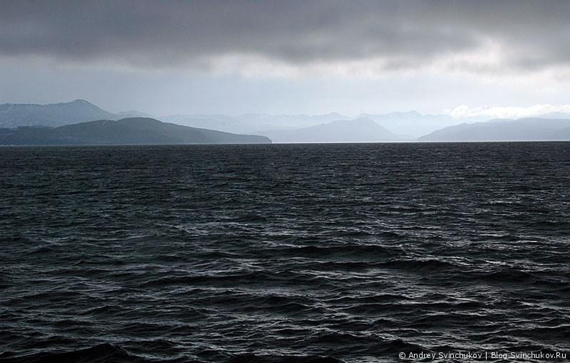 Морские виды Камчатки