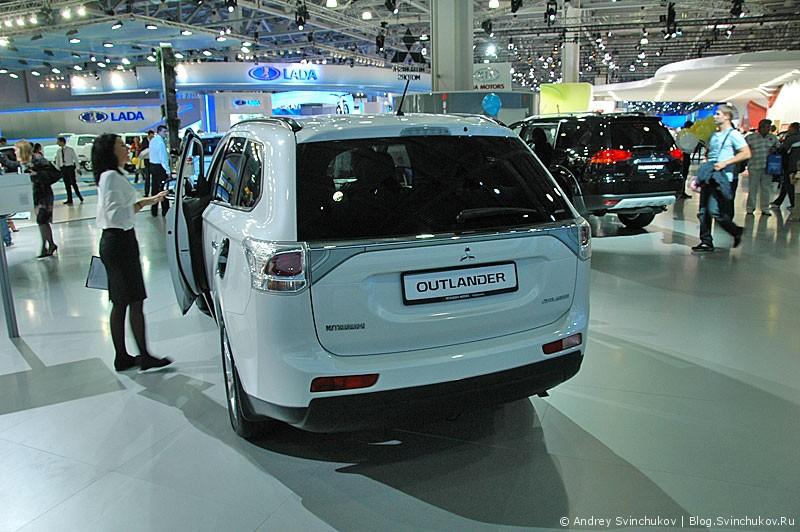 Mitsubishi на ММАС-2012