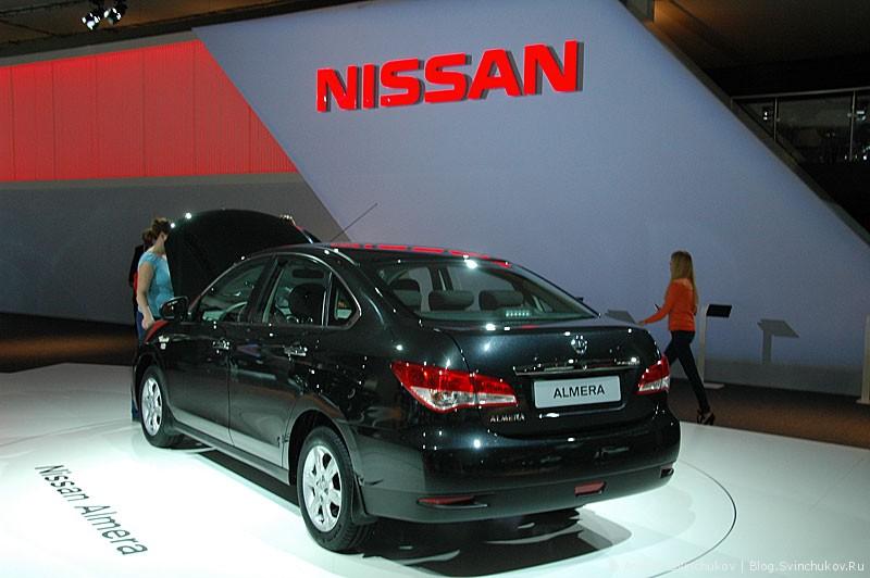 Nissan на ММАС-2012