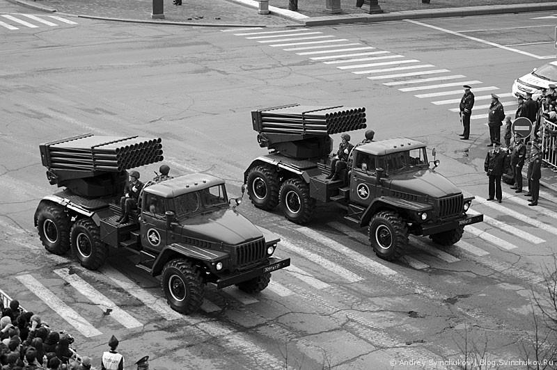 Парад Победы в Хабаровске