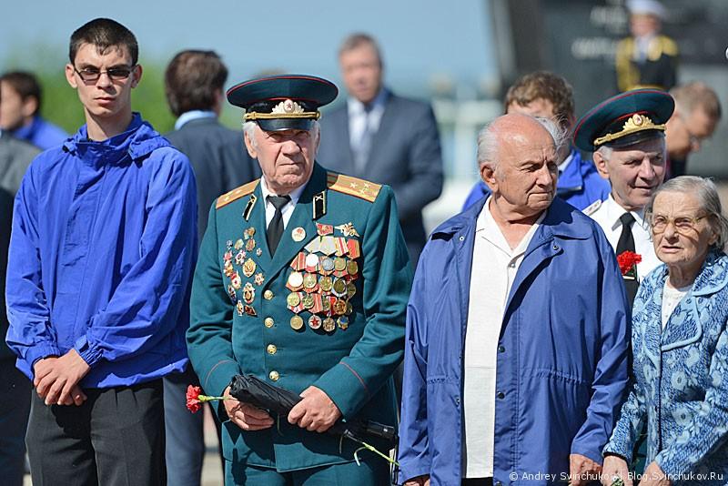 на площади Славы в Хабаровске