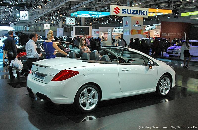 Peugeot  на ММАС-2012