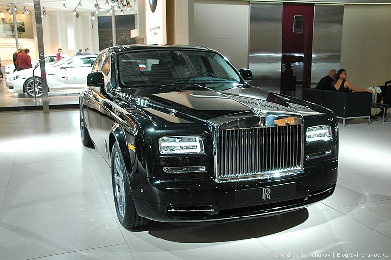 Rolls Royce на ММАС-2012