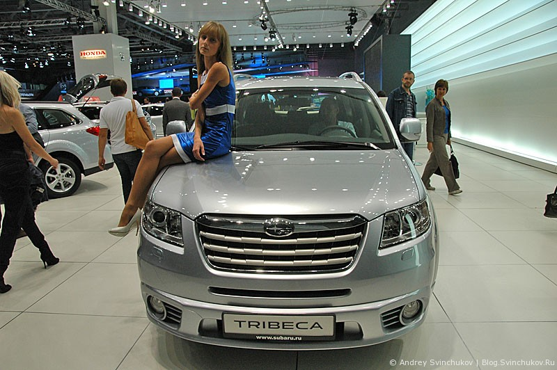 Subaru на ММАС-2012