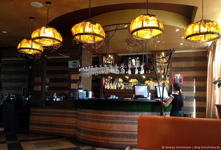 Японо-итальянское кафе в Хабаровске