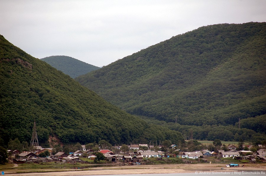 Залив Владимира с высоты