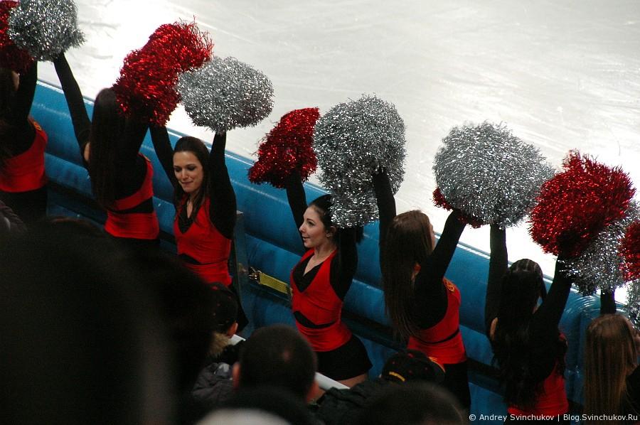 """Поддержка хабаровской команды по хоккею с мячом """"СКА-Нефтяник"""""""