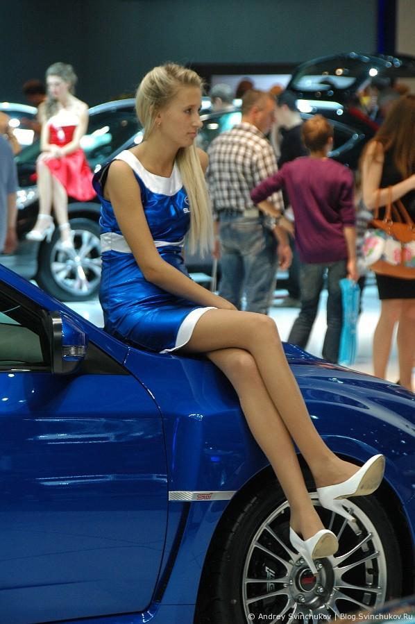 Девушки на ММАС-2012. Часть вторая - заключительная.