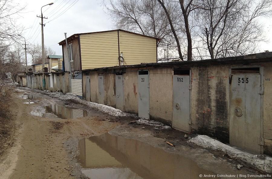Лодочная станция ранней весной Хабаровск
