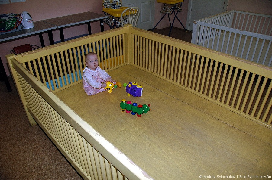 Дом ребенка в исправительной колонии № 12
