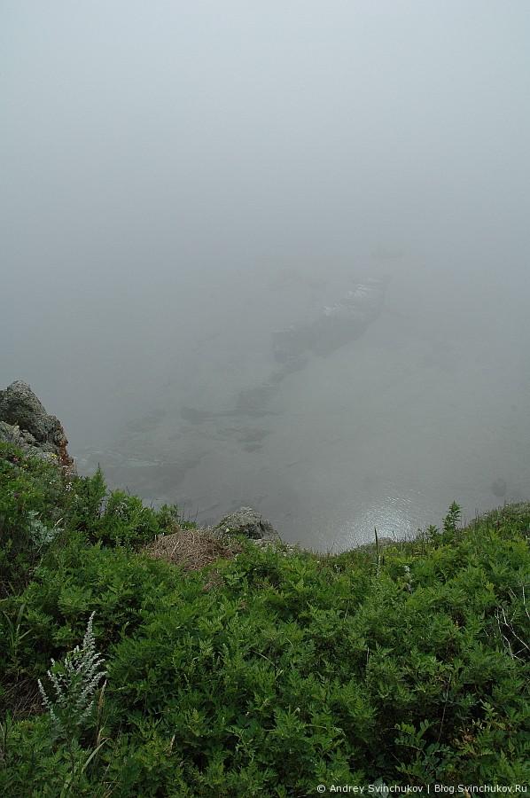 Маяк в тумане Балюзек