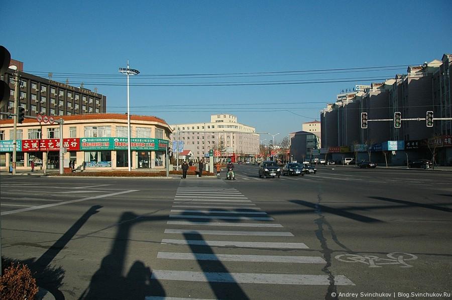 китайский город Хуньчунь (珲春市)