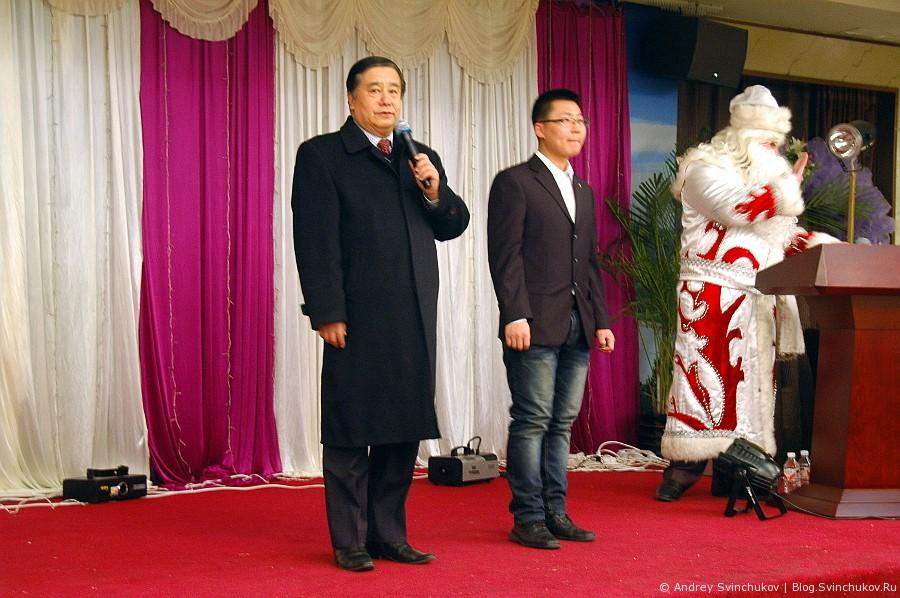 Выступления артистов города Хуньчунь