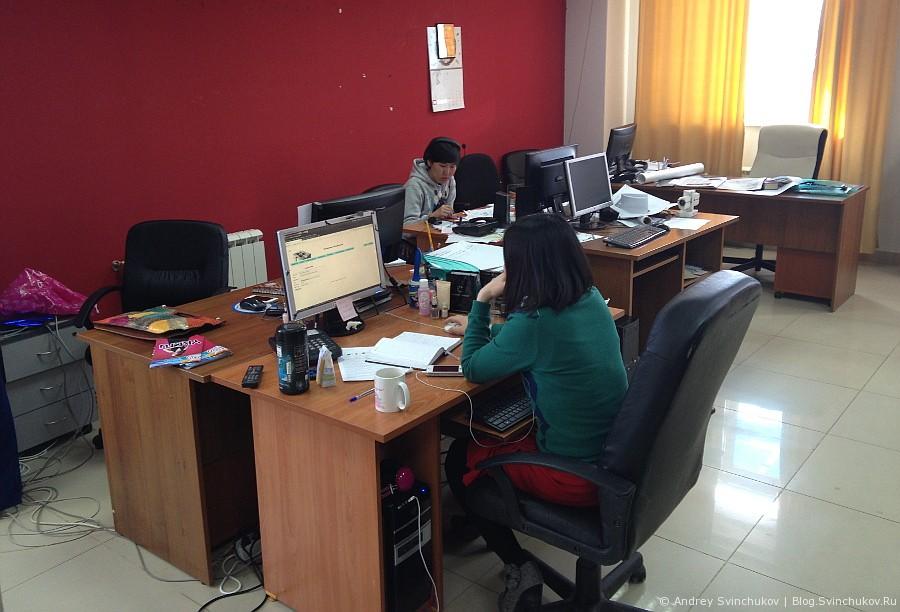 В офисе СахаИнтернет
