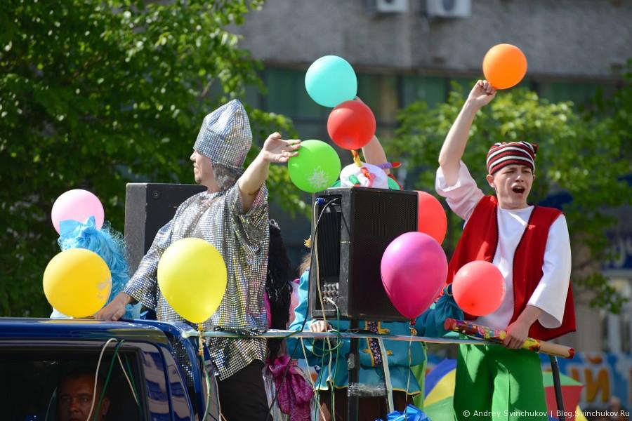 Яркие краски праздника