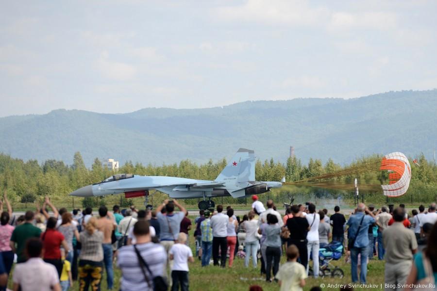Авиашоу в Комсомольске-на-Амуре