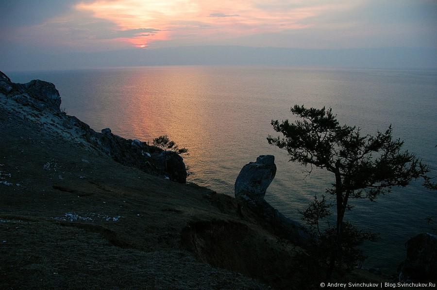 Мыс Бурхан - одна из девяти святынь Азии
