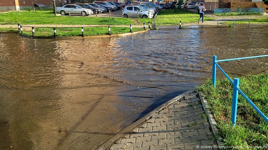 Наводнение в отдельно взятом районе :)