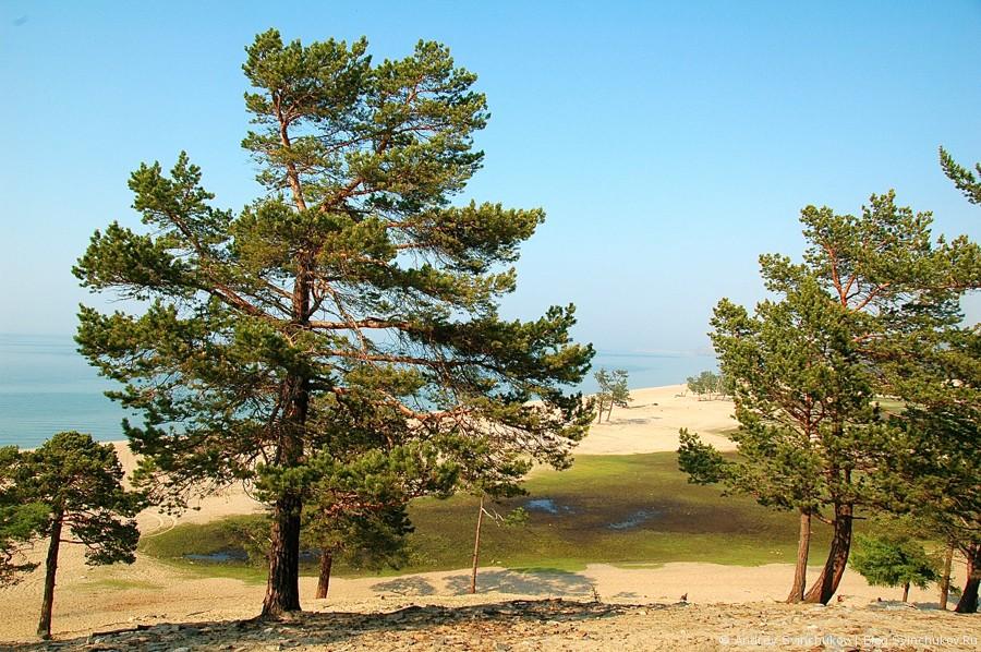 Пляж на острове Ольхон