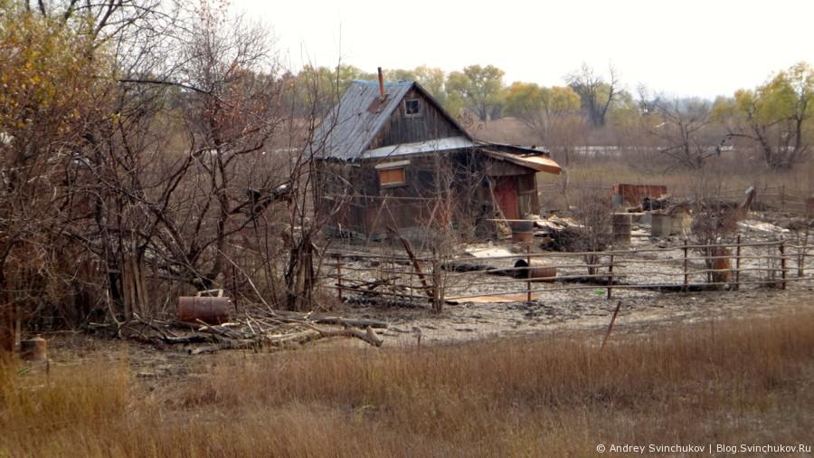 После наводнения прошлого года