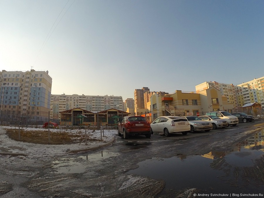 """Микрорайон """"Флегонтова"""" в Хабаровске"""