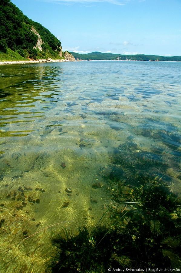 Под водой и добыча