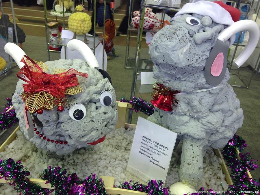 """Выставка-ярмарка """"Новогодний подарок"""" - тема раскрыта"""