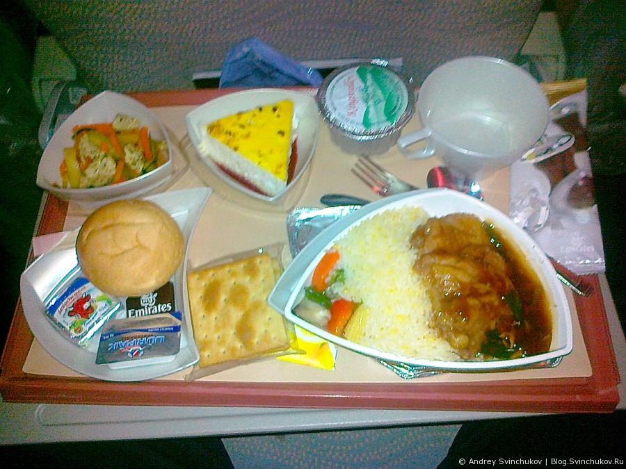 Полет с Emirates на Airbus A380