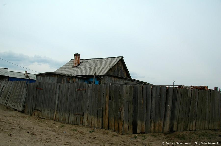 Поселок Хужир на острове Ольхон