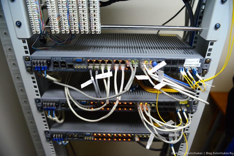 Коммуникационный хаб магистральной сети спутниковой связи
