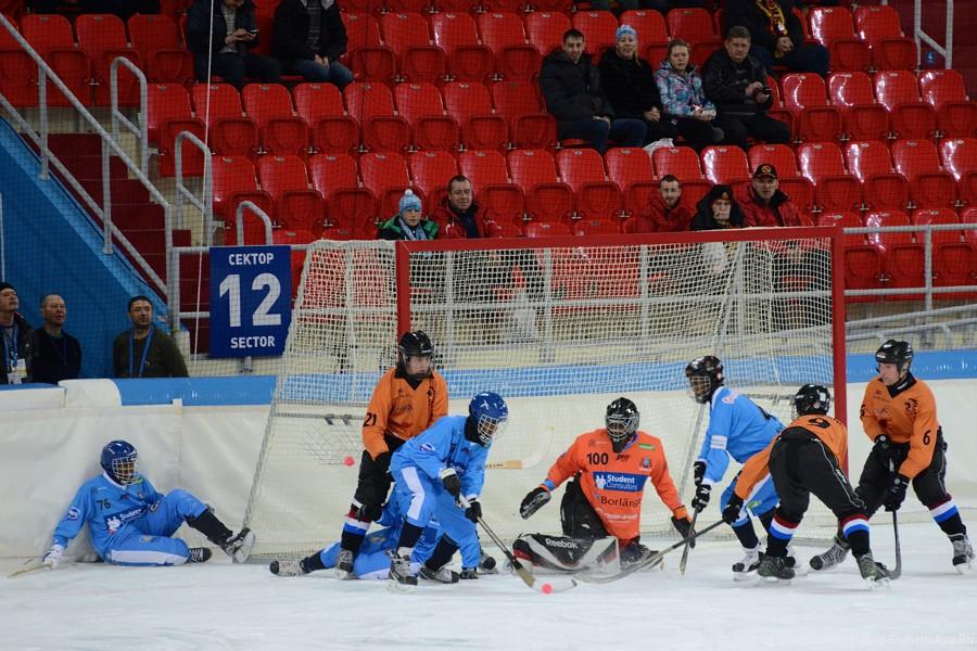 ЧМ-2015 по хоккею с мячом. Матч Сомали - Нидерланды