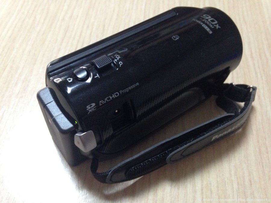 Обзор видеокамеры Panasonic HC-V250