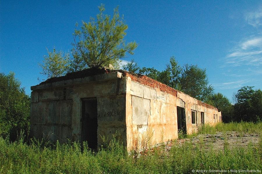 Развалины на побережьях залива Владимира