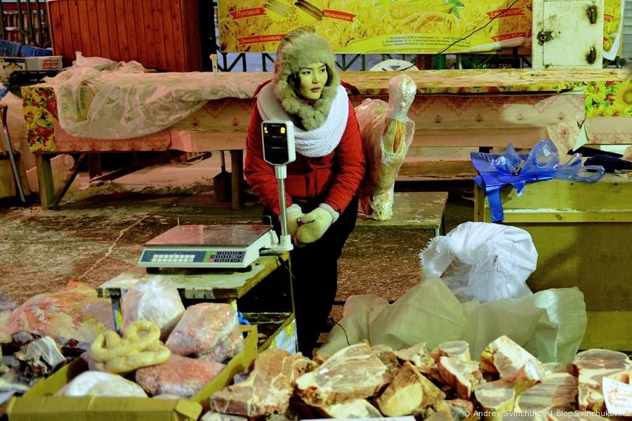 Рынок в Якутске