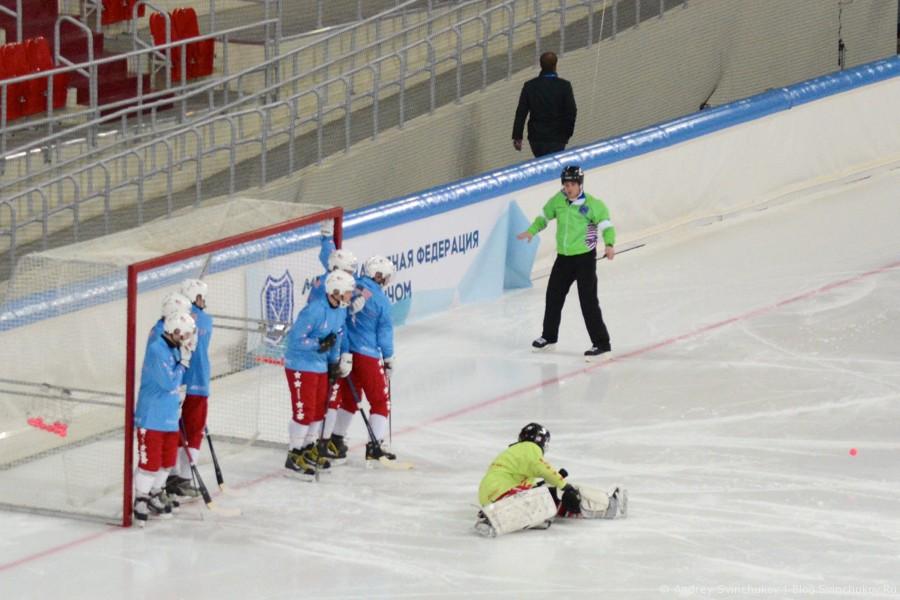 Чемпионат мира по хоккею с мячом — 2015. Матч Норвегия - США