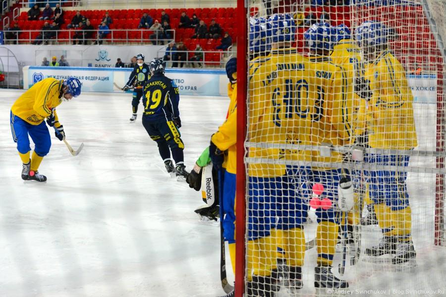 Чемпионат мира по хоккею с мячом — 2015. Матч Швеция - Казахстан