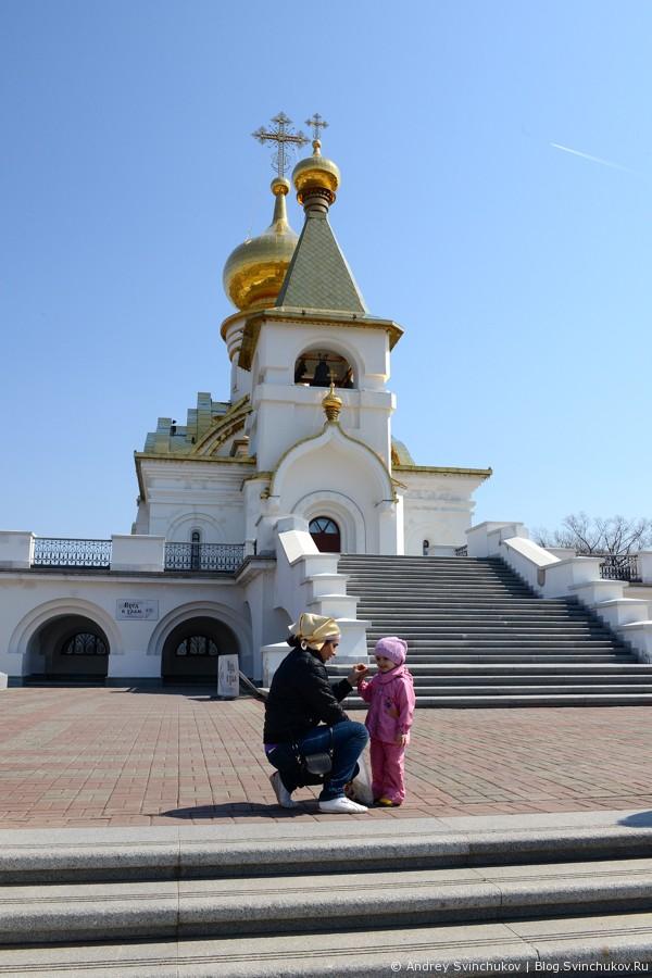 Храм Преподобного Серафима Саровского и парк Северный
