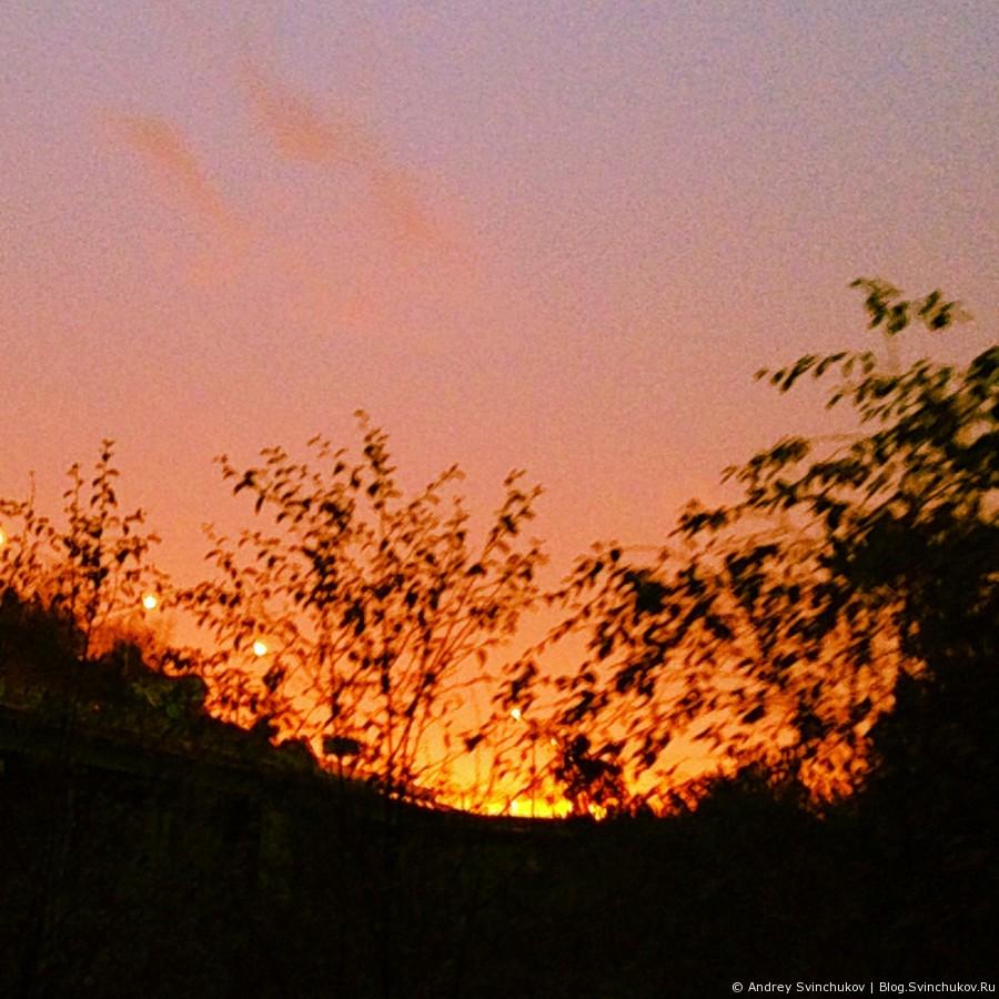 Инстаграмное 42. Восходы и закаты