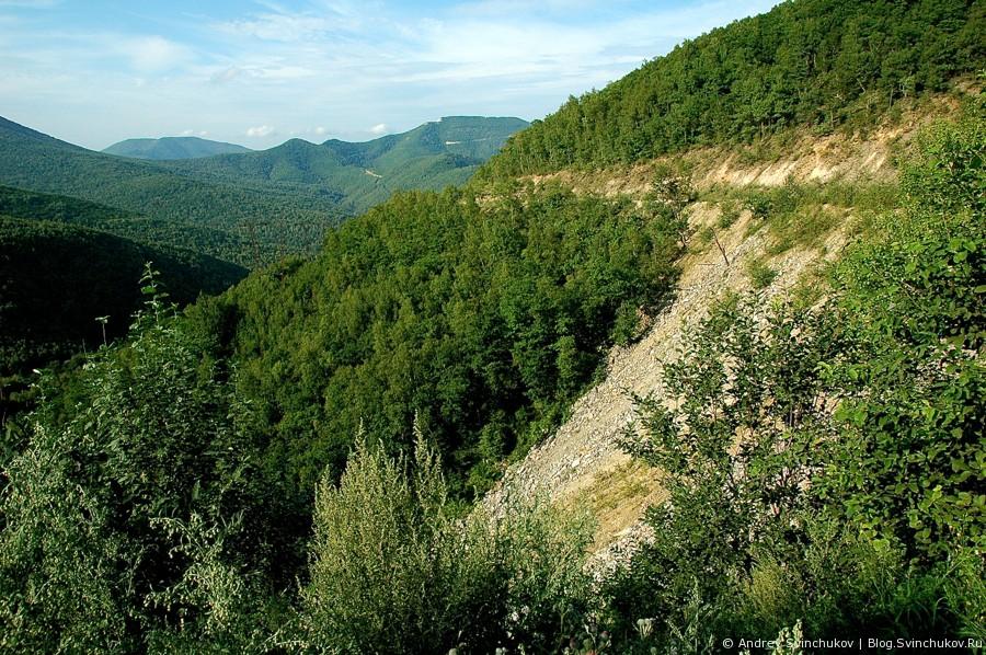 Перевал по дороге на Дальнегорск